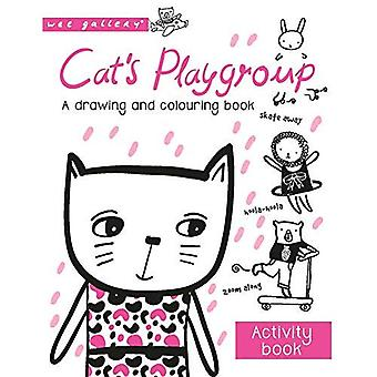 Cat's Playgroup: A drawing and colouring book (Wee Gallery)