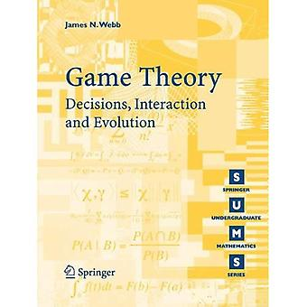 Spilteori: Beslutninger, interaktion og Evolution (Springer bachelor matematik)