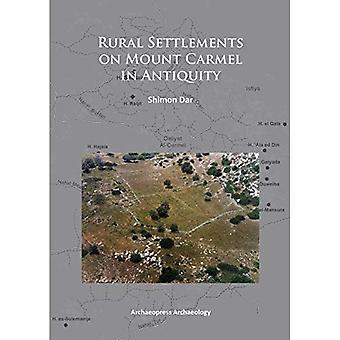 Rural Settlements on Mount Carmel in Antiquity