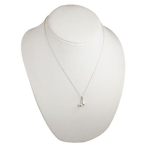 Silver 10x16mm Sphinx Pendant with a rolo Chain 20 inches