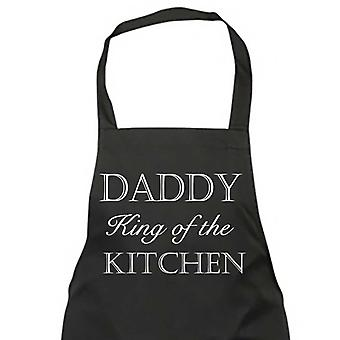 Daddy King Of The Kitchen Black Apron