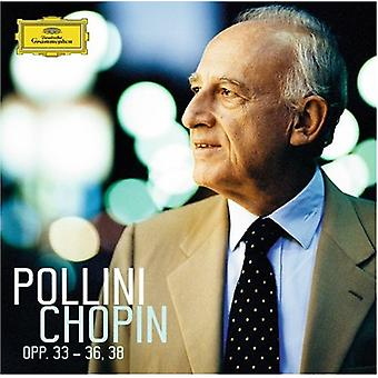 Maurizio Pollini - Pollini Plays Chopin, Opp. 33-36 & 38 [CD] USA import