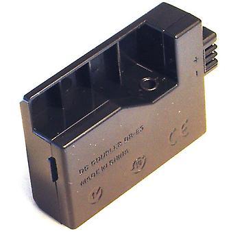 Battery Coupler for Canon DR-E5 DRE5 3072B001 Digital Rebel Xsi XS EOS 1000D 450D 500D Kiss F X2 X3 T1i CA-PS700 ACK-E5