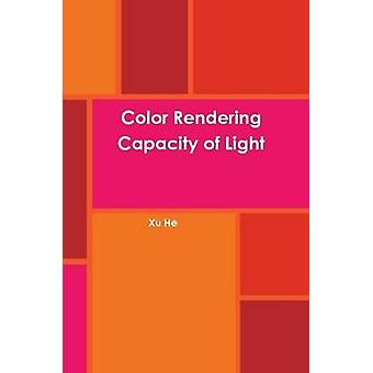 Color Rendering Capacity of Light by He & Xu