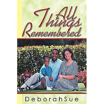 Alt som husket av DeborahSue