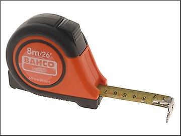 Bahco MTB Auto Tape 8m/26ft (Width 25mm) Reversible Magnetic Tip