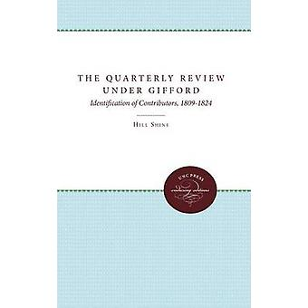 Upplåningens delårsrapport under Gifford identifiering av bidragsgivare 18091824 av glans & Hill