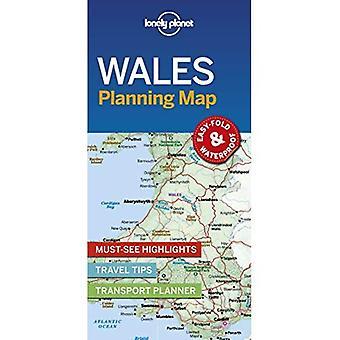 Pays de Galles de Lonely Planet planification Map (carte)