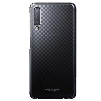 Samsung gradation cover black EF AA505CBEGWW for Galaxy A50 6.4 bag sleeve case