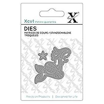 Xcut Mini Dies (2pcs) - Mermaid (XCU 503037)