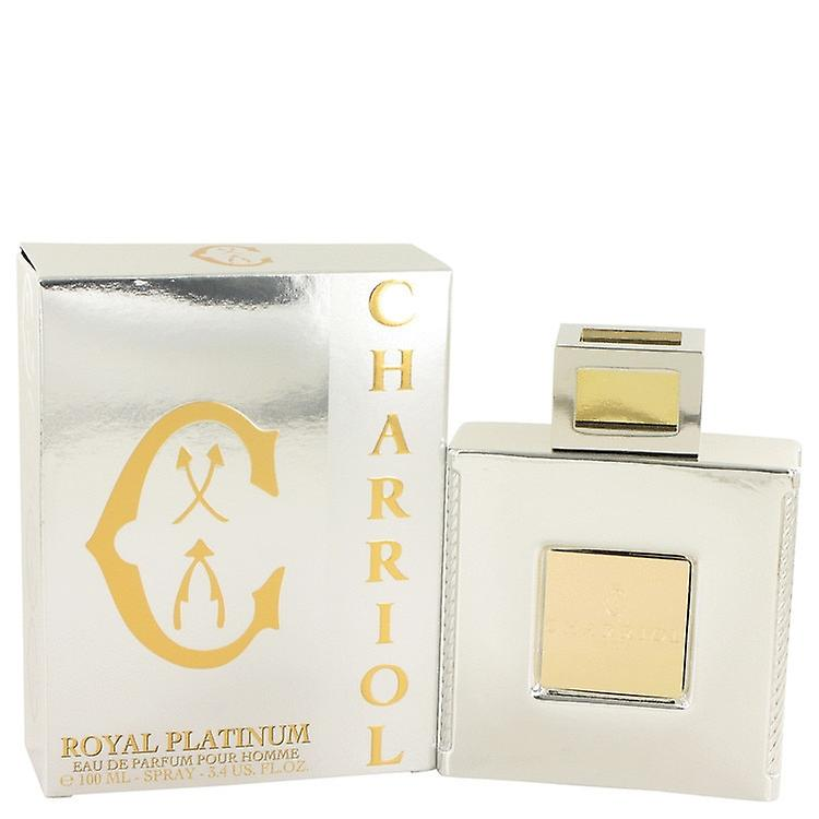 Royal Eau Platinum Parfum Charriol 3 Oz100 By Mlmen 4 De Spray f7vImYby6g