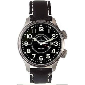 Zeno-watch mens watch OS pilot vibrate 8575-a1