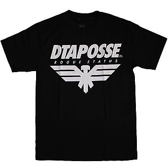 DTA RS Eagleline T-Shirt Black White