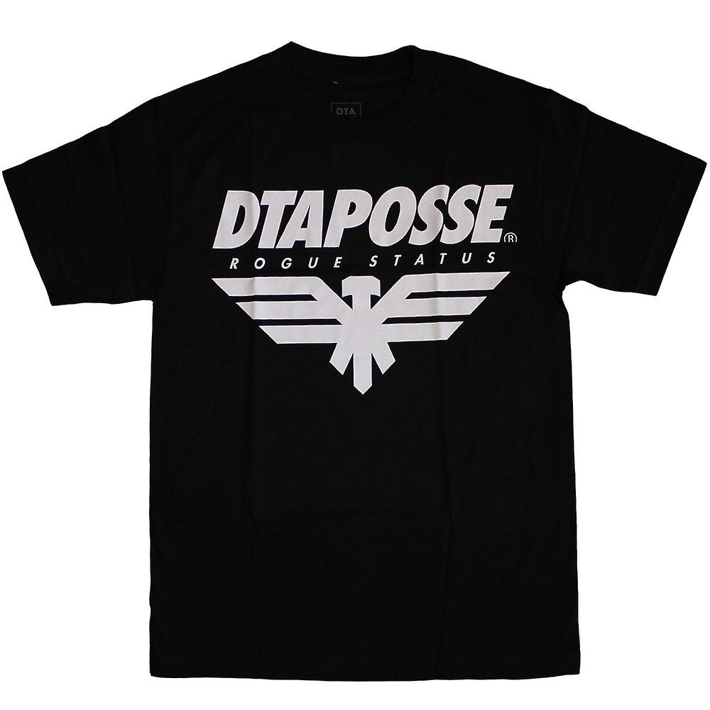 DTA Eagleline RS T Shirt negro blanco