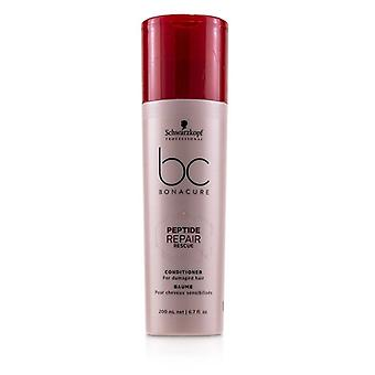 Schwarzkopf Bc Bonacure Peptide Repair Rescue Conditioner (for Damaged Hair) - 200ml/6.7oz