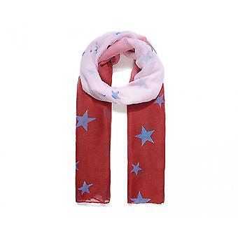 Intrigue Womens/Ladies Ombre Star Print Scarf
