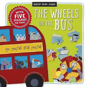 The Wheels on the Bus - Kate Toms Jigsaw Book - 9781786920133 Book