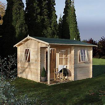Forest Garden Malvern Log Cabin 3.6 x 3.6