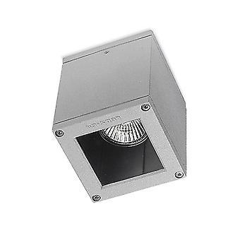 Afrodita GU10 Outdoor Ceiling Light Grey-Leds-C4 15-9480-34-37