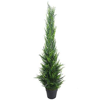100cm Artificial Cedar Cone Cypress Conifer Topiary Tree
