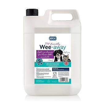 RSPCA Wee Away 5L kjæledyrvennlig flekk og lukt Remover probiotiske Formula