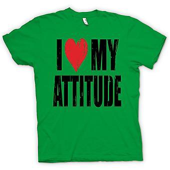 Kids T-shirt - I Love My Attitude - Funny