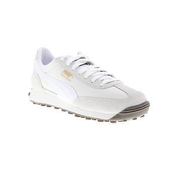 Puma Easy Rider mens wit Suede & nylon lage top Lace up sneakers schoenen