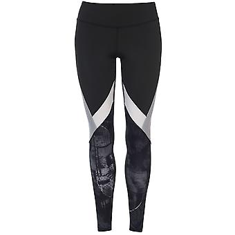 Reebok Womens Workout Panelled Tights Trousers Pants Bottoms Ladies