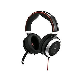 Jabra evolve 80 ms stereo headset with microphone 1 x jack 3, 5mm + usb