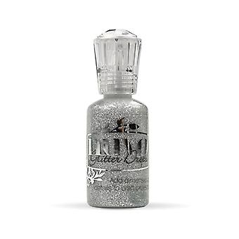 Nuvo by Tonic Studios Glitter Drops Silver Moondust