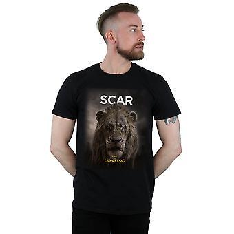 Disney Men's The Lion King Movie Scar Poster T-Shirt