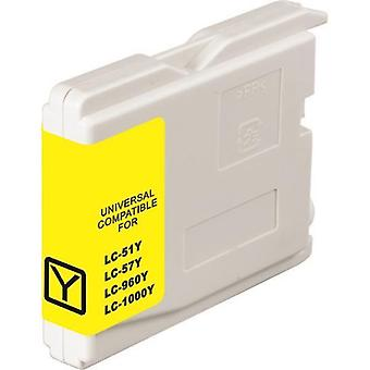 LC37 LC57 Yellow Compatible Inkjet Cartridge
