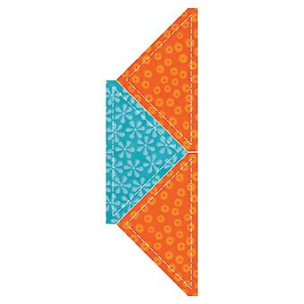 Go! Fabric Cutting Dies Quarter Square 4 1 2