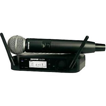 Wireless microphone set Shure SM58 Transfer type:Radio