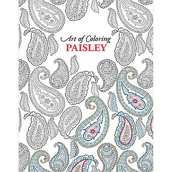 Leisure Arts-Art Of Colors Paisleys LA-54586