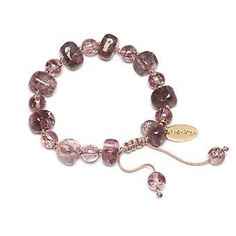 Lola Rose Sury Bracelet Brown Sugar Rock Crystal