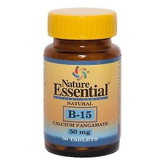 Nature Essential B-15 50 Mg. 50 Tablets (Vitamins & supplements , Vitamins)