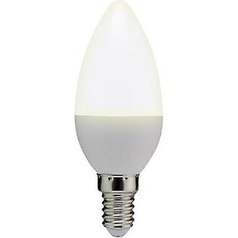LED E14 Candle 3.5 W = 25 W Warm white (Ø x L) 37 mm x 100 mm EEC: A+ Basetech 1 pc(s)