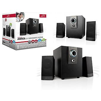 Sunstech Avenza 2.1 subwoofer system, 14w