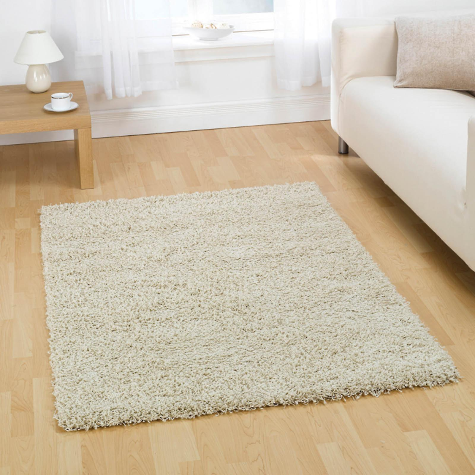 Cariboo Shaggy Rugs In Ivory