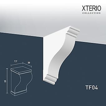 White console ORAC decor TF04 XTERIO wall bracket for canopy Zierlement timeless classic design