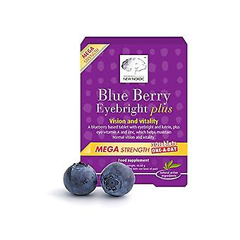 New Nordic, Blueberry Mega One a Day, 30 tablets