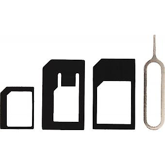 Mobilize Phone Sim Adapter Kit 4-in-1
