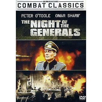 De nacht van de generaals [DVD] USA import