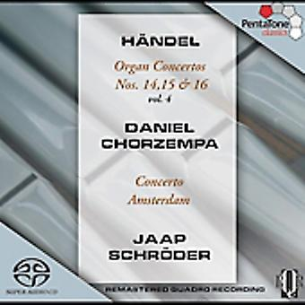 G.F. Handel - H Ndel: Conciertos de órgano, Vol. 4: no. 14, 15 y 16 [SACD] USA importación