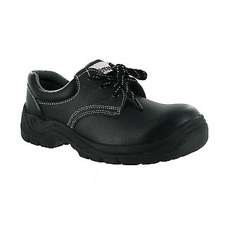 Centek FS337 Womens Safety Shoes Workwear Textile Leather Rubber Lace Up Shoes