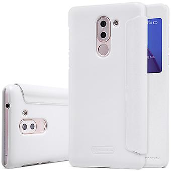 Nillkin smart cover hvid for Huawei honor 6 X lomme case case case beskyttelse