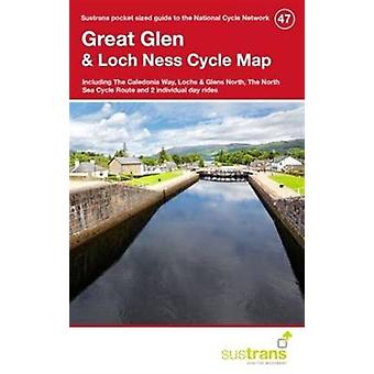 Great Glen & Loch Ness Cycle Map 47 (Paperback) by Sustrans