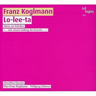 Franz Koglmann - Lo-Lee-Ta musik Nabokov [CD] USA import