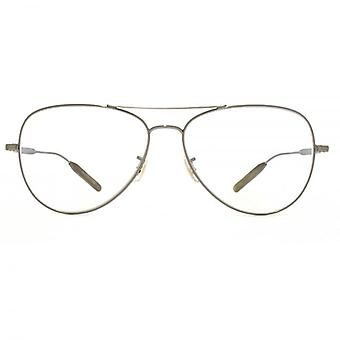 Paul Smith Davison Aviator Glasses In Antique Gold